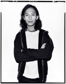 Alexander Wang Backstage at Alexander Wang, F/W 2010