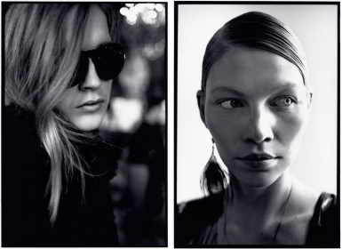 Backstage at Dries Van Noten and Backstage at Stella McCartney, F/W 2010