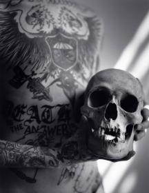 Untitled (Frank #6, Skull), 2011