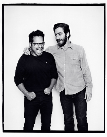 Michael Pena and Jake Gyllenhaal at TIFF, 2012