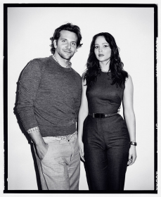 Bradley Cooper and Jennifer Lawrence at TIFF, 2012
