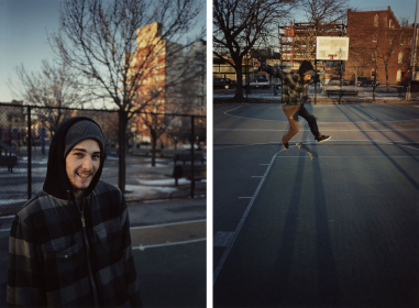 Untitled (Josh #1) and Untitled (Josh #2), 2009