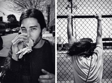 Untitled (Josh #85), 2013 and Untitled (Josh #77), 2009