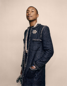 Pharrell Williams at Chanel Métiers d'Art, 2016