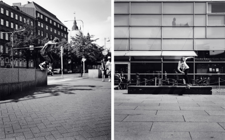 Untitled (Finland #46, B/S Smith) and Untitled (Finland #45, B/S Tail), 2010