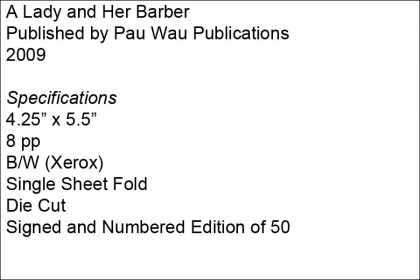 A Lady and Her Barber – Pau Wau Publications