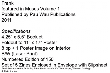 Frank – Muses Volume 1 – Pau Wau Publications