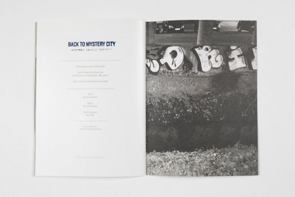 Back to Mystery City – Pau Wau Publications