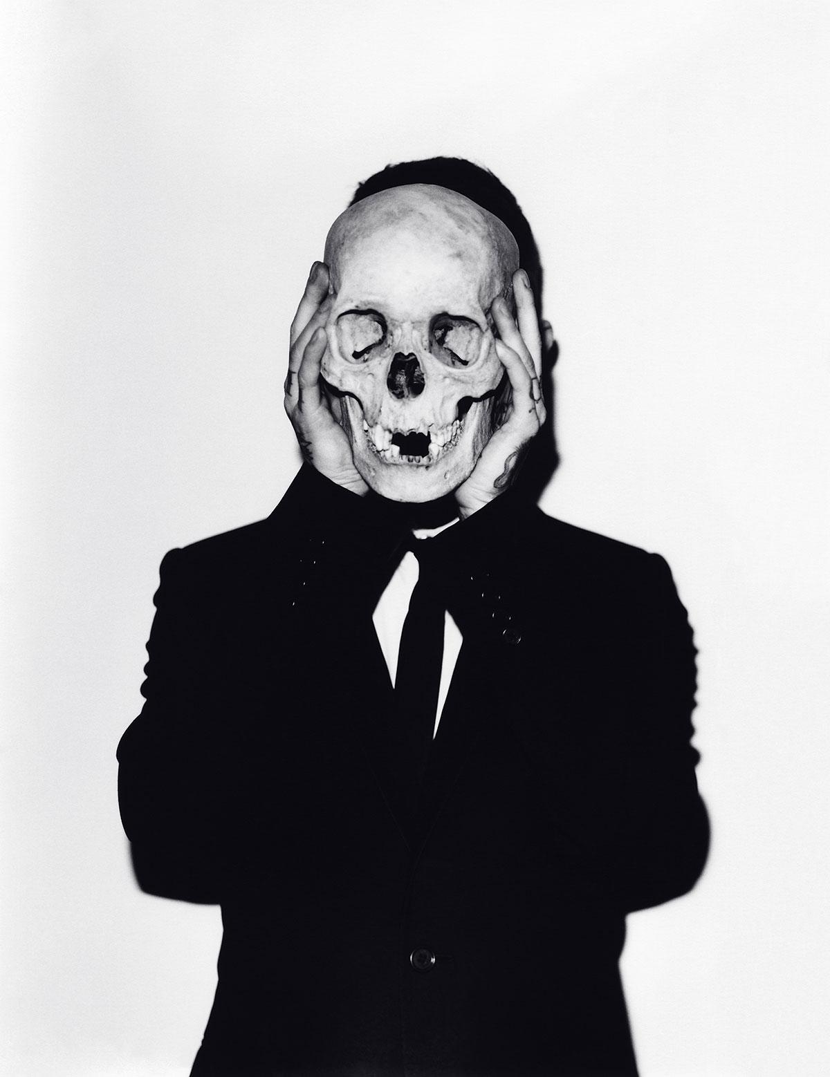 Untitled (Frank #9, Skull), 2011