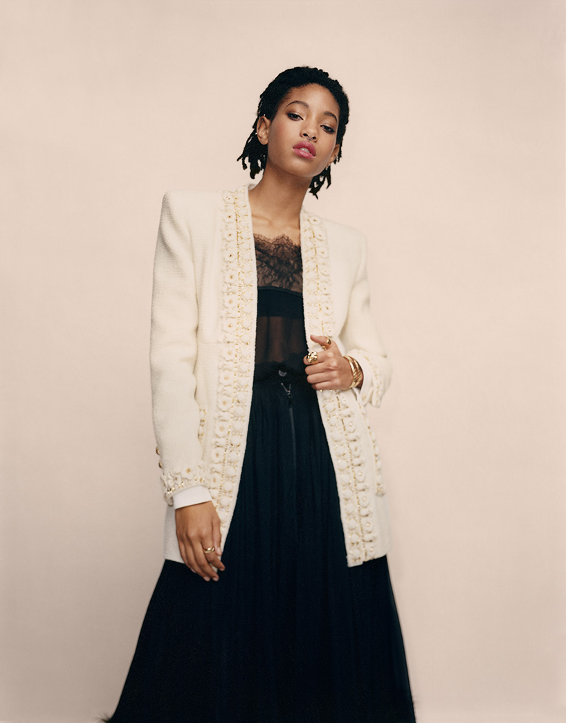 Willow Smith at Chanel Métiers d'Art, 2016