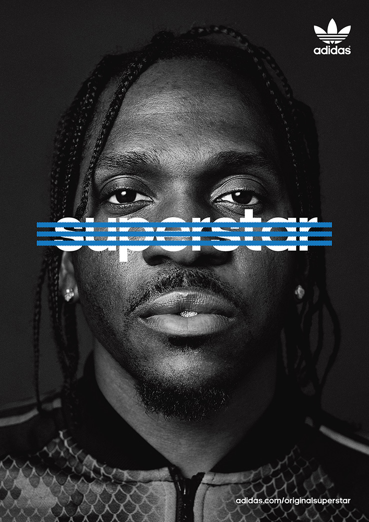 Pusha T for Adidas Originals x Original Superstar, 2015